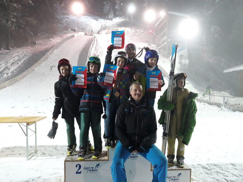 Trener in njegova ekipa