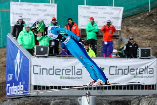 Jurij Tepeš je prav v Planici dosegel obe svoji zmagi na tekmah za svetovni pokal. V petek bo eden glavnih slovenskih adutov za najvišja mesta. (Foto: Profimedia)
